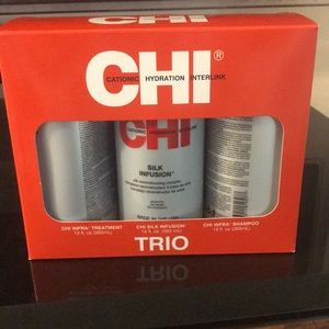CHI Trio hair products
